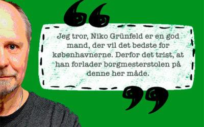 Pressens fokus på Niko Grünfelds gøren og laden fjerner fokus fra klima og miljø